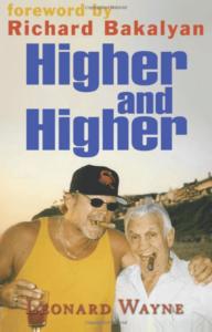 Higher and HIgher Book Cover- Leonard Wayne - Inverventionist